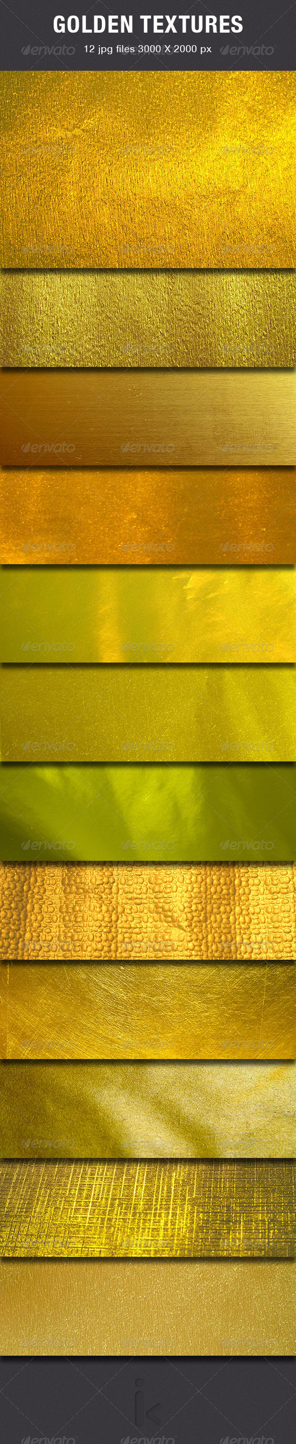 GraphicRiver Gold Textures 6392186