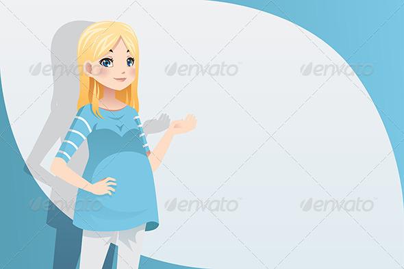 GraphicRiver Pregnant Woman 6392310
