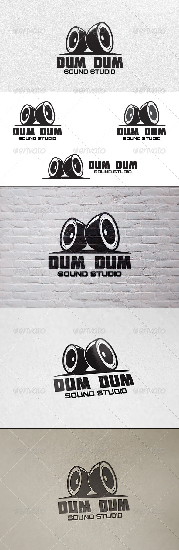 Sound Studio - Logo Template