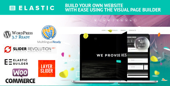 ThemeForest Elastic WordPress Theme and Page Builder 6236342