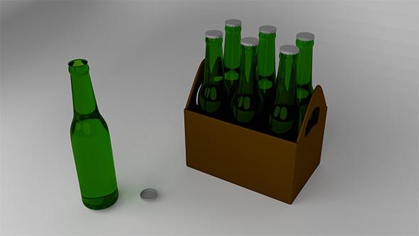 Beer Box - 3DOcean Item for Sale