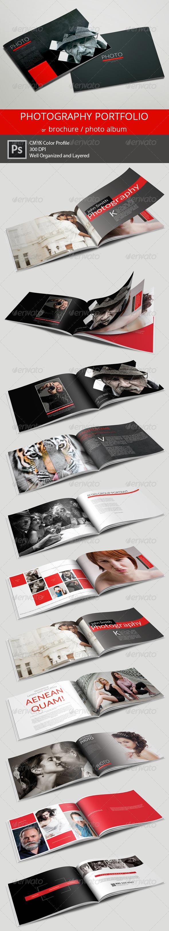 GraphicRiver 20 Pages Photography Portfolio or Photo Album 6362564