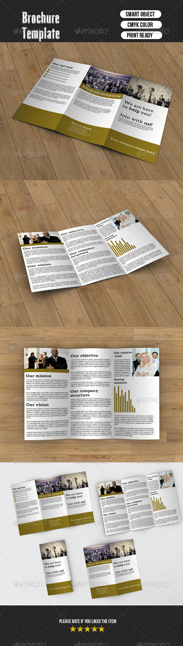 GraphicRiver Trifold Brochure- Business 6393560