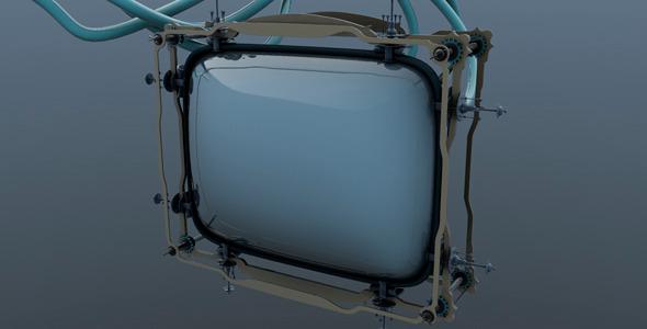 3DOcean Television receiver 6393562