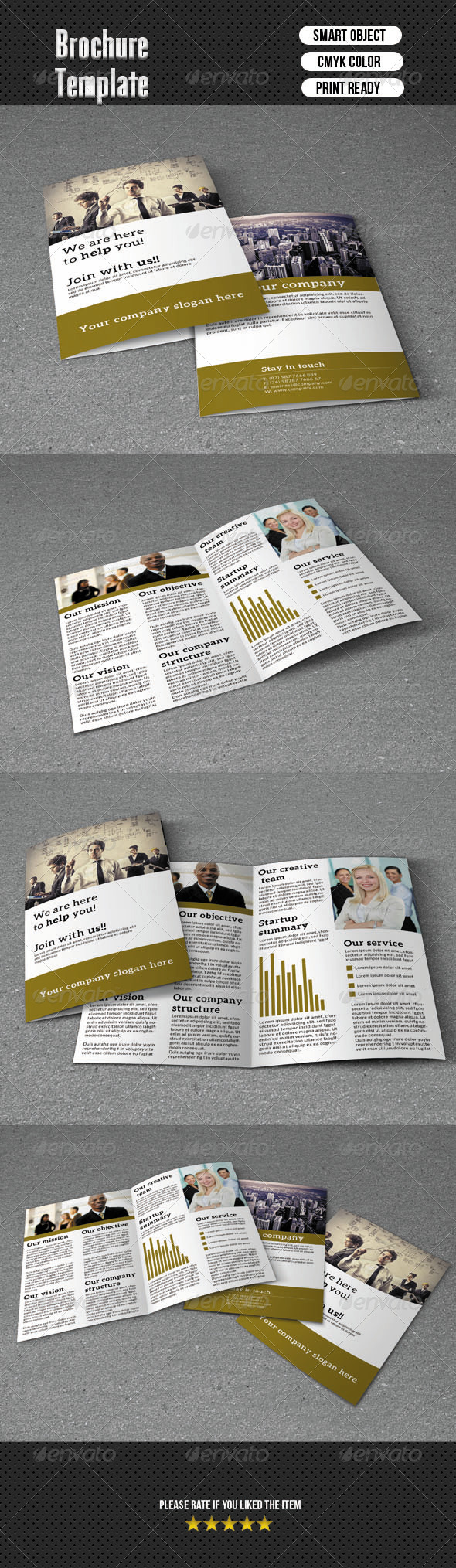 GraphicRiver Bifold Brochure-Business 6393566