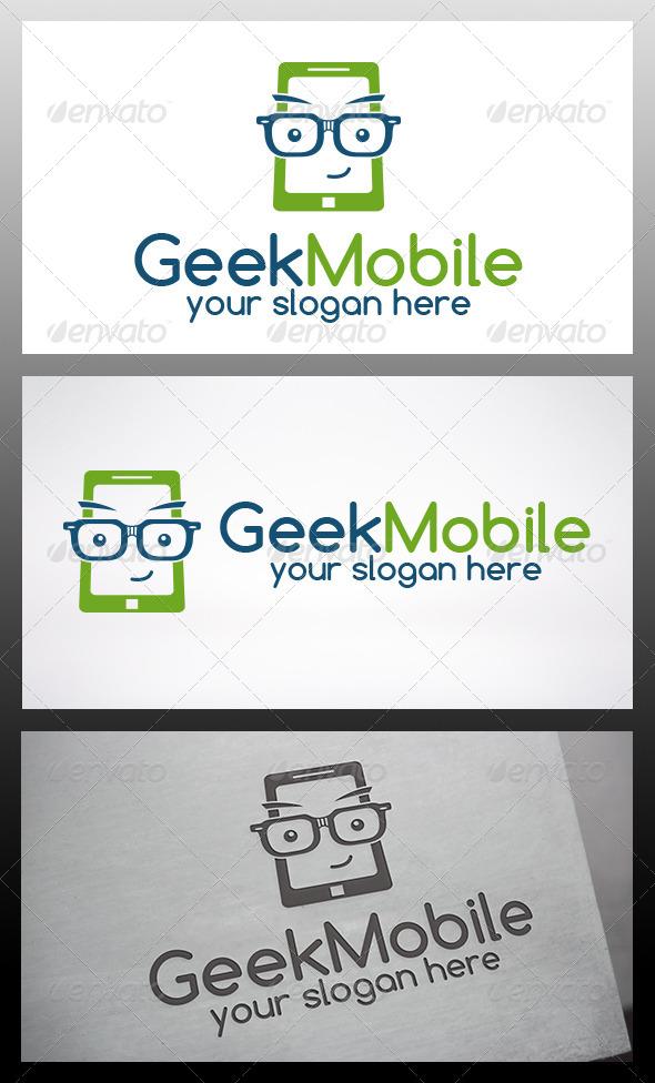 GraphicRiver Geek Phone Logo 6393853