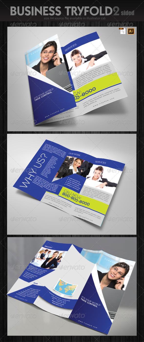 GraphicRiver Service Brochure Design 6393862