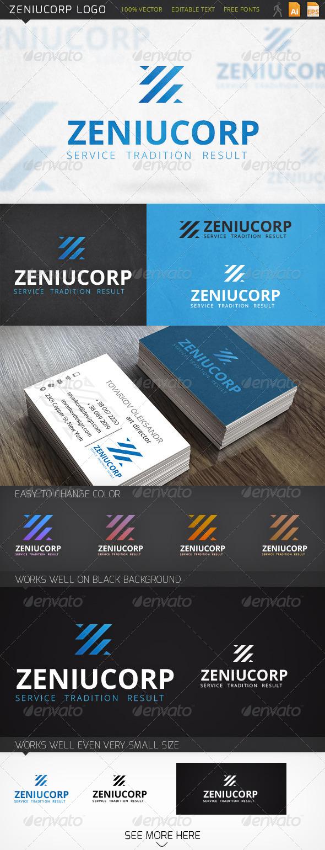 GraphicRiver Zeniucorp Logo 6393873