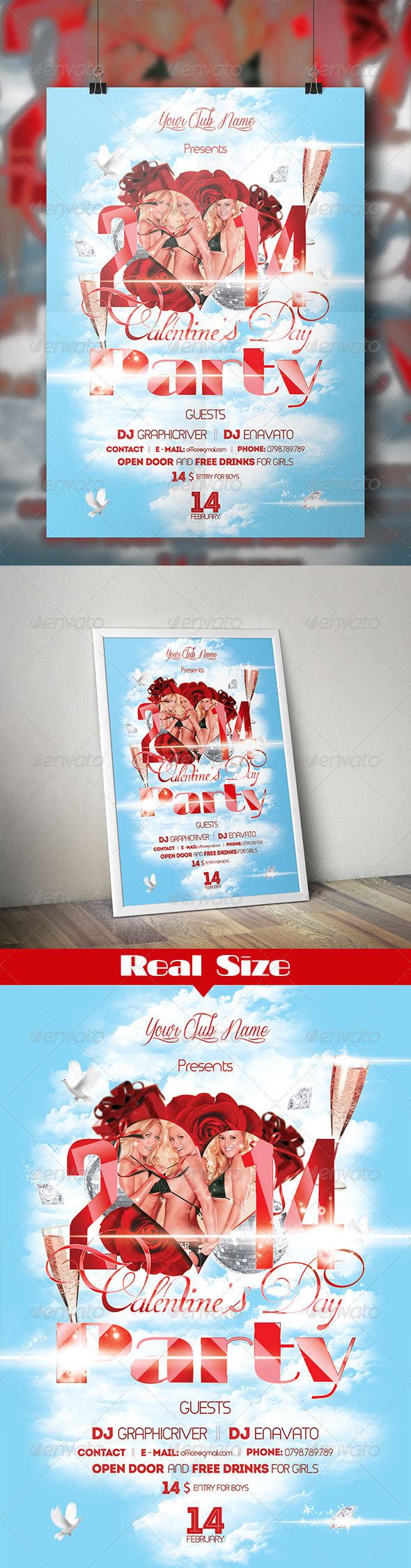 GraphicRiver Valentine s Day Party 6336684