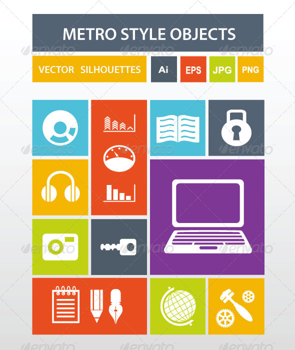 GraphicRiver Metro Style Icons 6394055