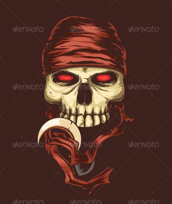 GraphicRiver Pirate Skull 6394283