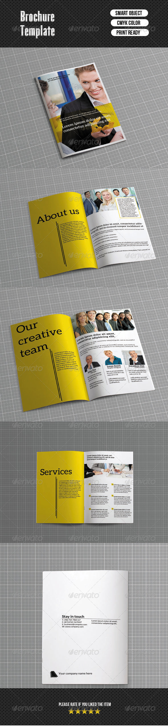 Bifold Brochure-Business (8 Pages) - Corporate Brochures