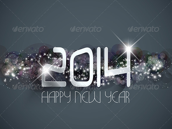 GraphicRiver Happy New Year Background 6394574