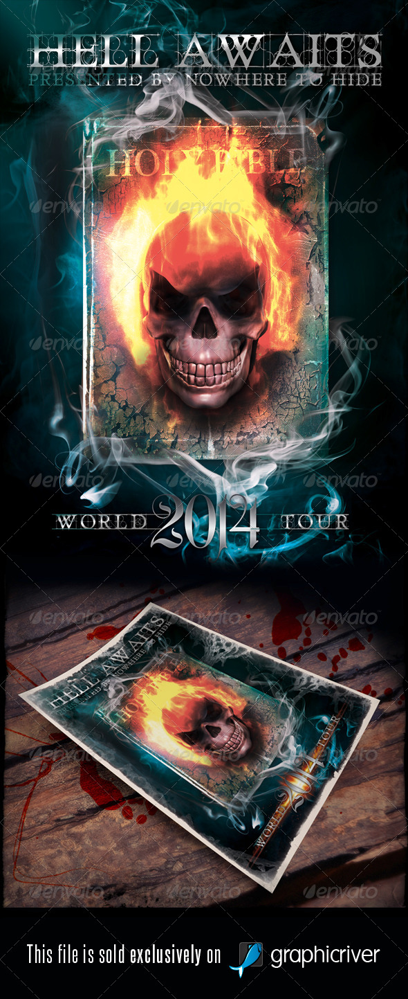 GraphicRiver Heavy Metal Vol.9 6394614