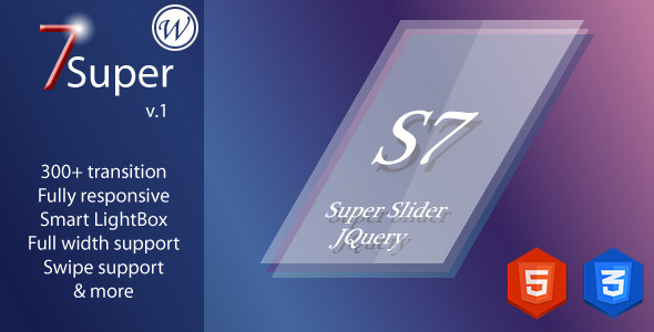 CodeCanyon Super 7 Responsive Wordpress Image Slider Plugin 6363751