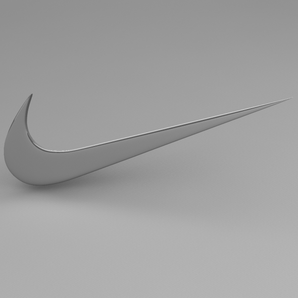 Nike logo - 3DOcean Item for Sale