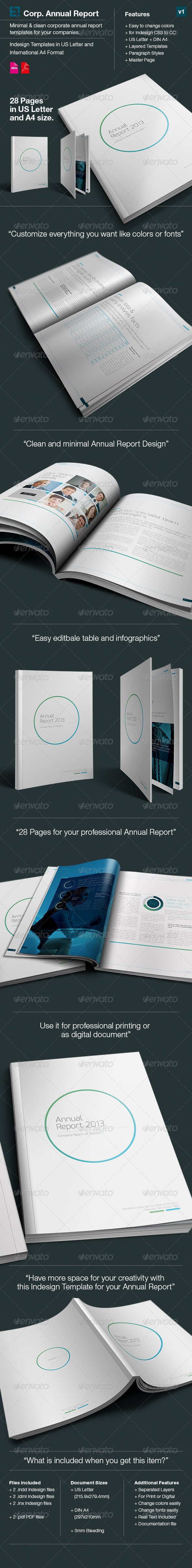 GraphicRiver Annual Report DoubleInk A4 and US Letter Size 6394974