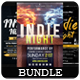 Indie Night - Flyers Bundle [Vol.4] - GraphicRiver Item for Sale