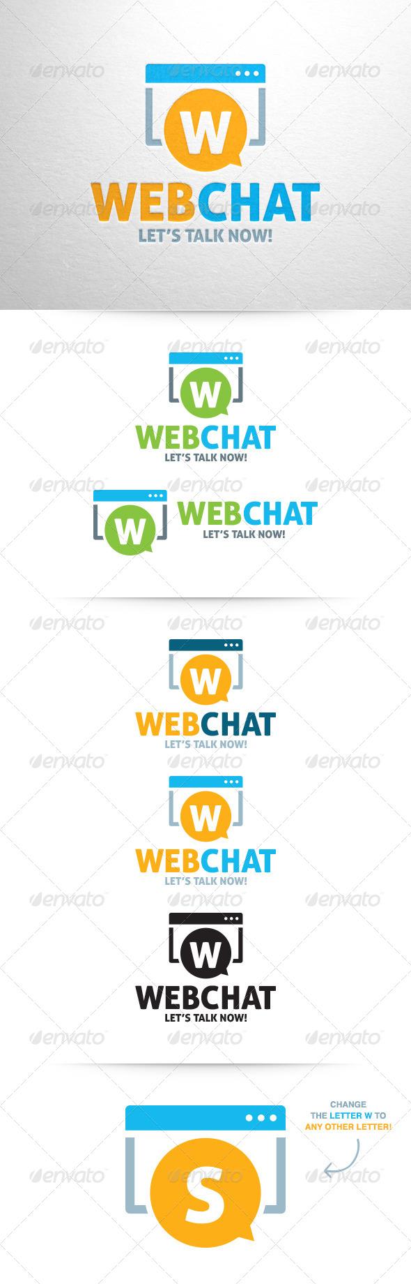 GraphicRiver Web Chat Logo 6395031