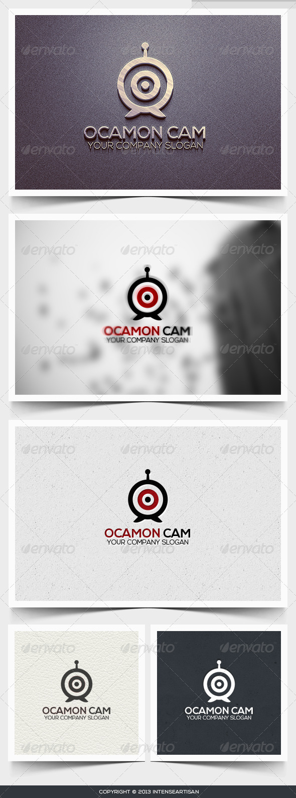GraphicRiver Ocamon Cam Logo Template 6395231