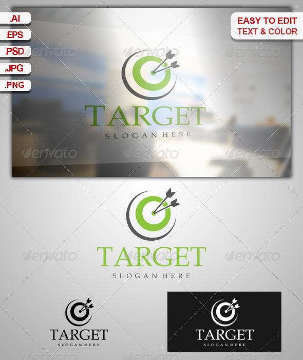 GraphicRiver Target Logo 6395238