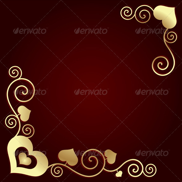 GraphicRiver Valentine s Day Background with Hearts 6395372