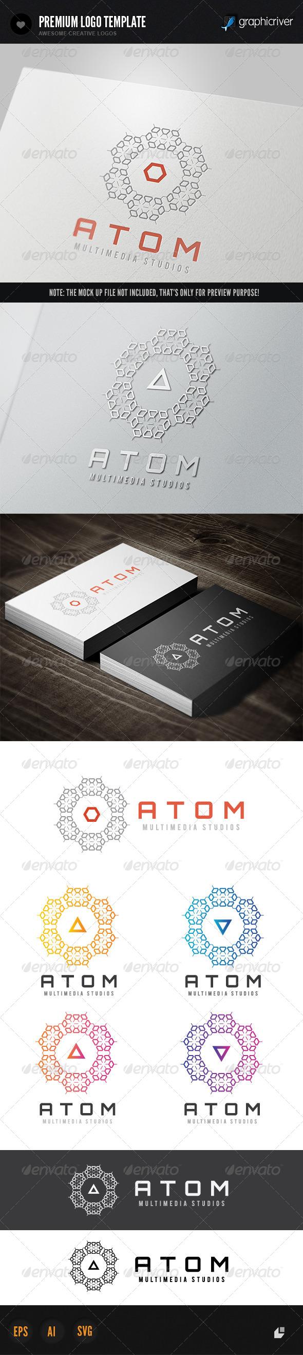 GraphicRiver Atom Media 6395401