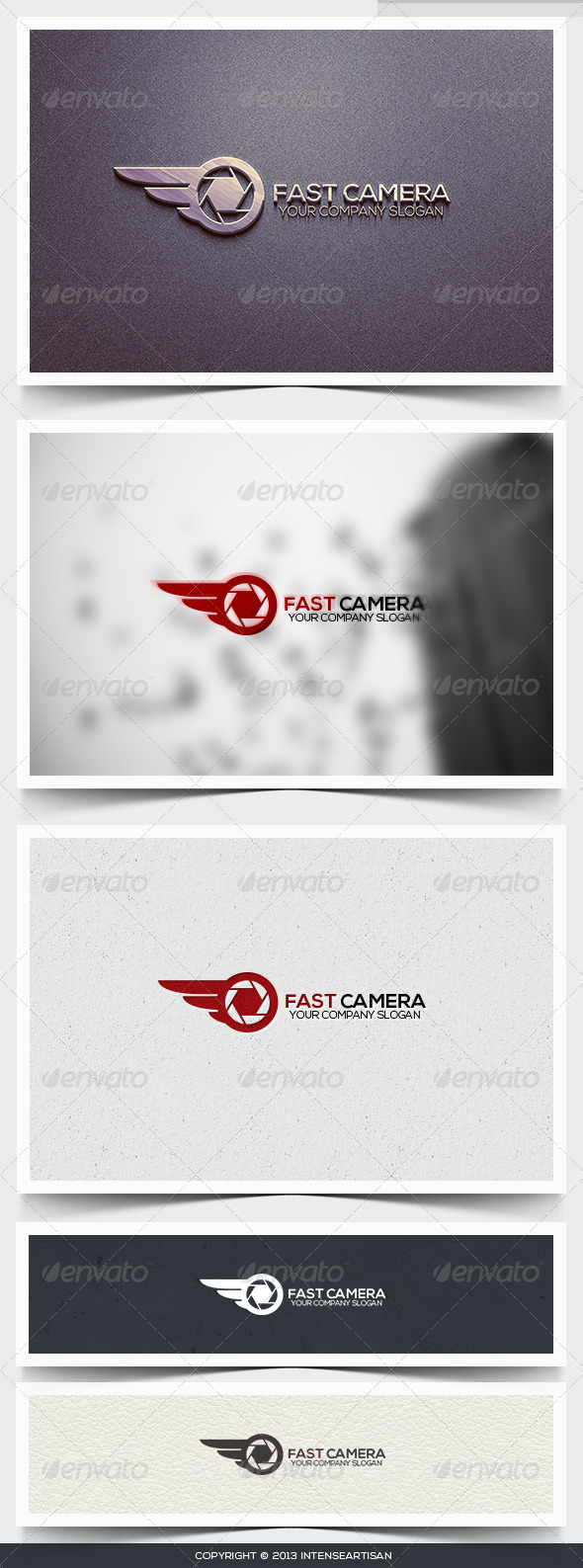 GraphicRiver Fast Camera Logo Template 6395536