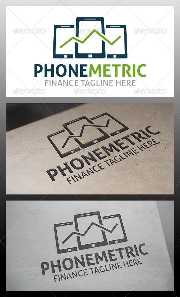 GraphicRiver Phone Metrics Logo 6395563