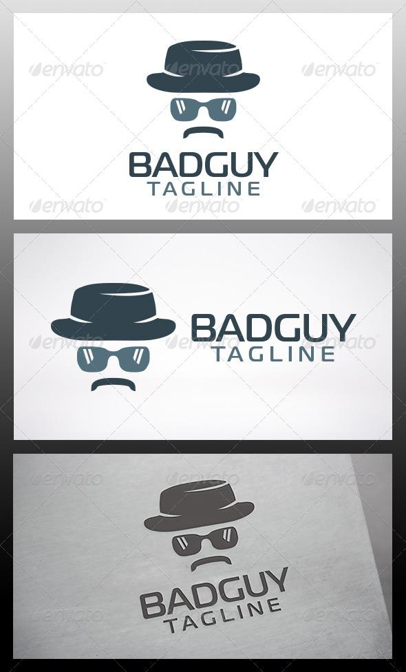 GraphicRiver Bad Guy Logo 6395609