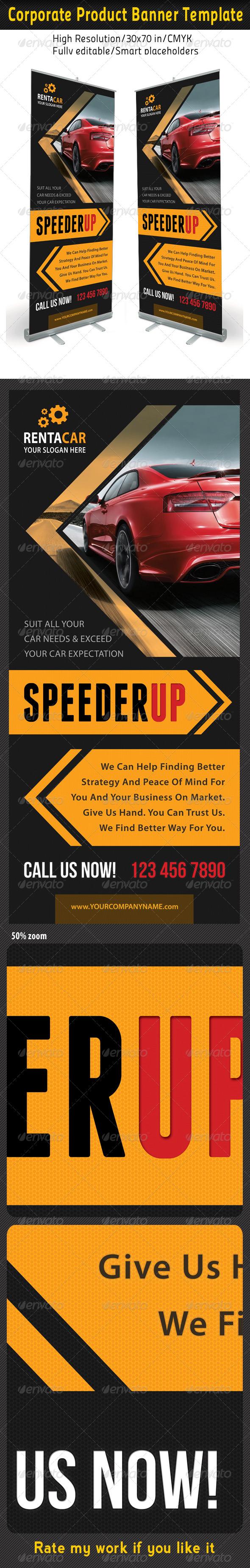 Corporate Multipurpose Banner Template 34 - Signage Print Templates