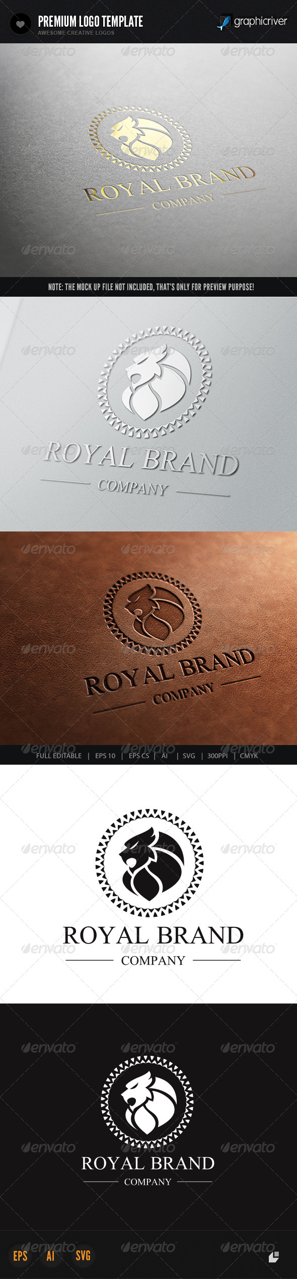 GraphicRiver Lion Royal Brand 3 6396520