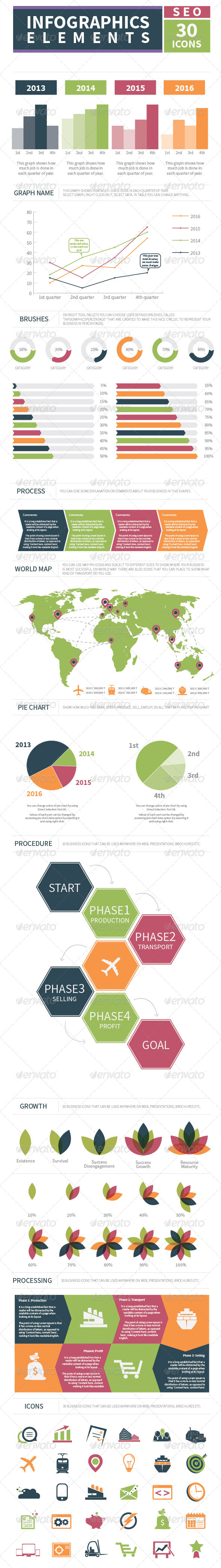 GraphicRiver Infographics Business 6396779