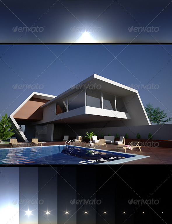 Realsky HDRI BlueClear 1500 - 3DOcean Item for Sale