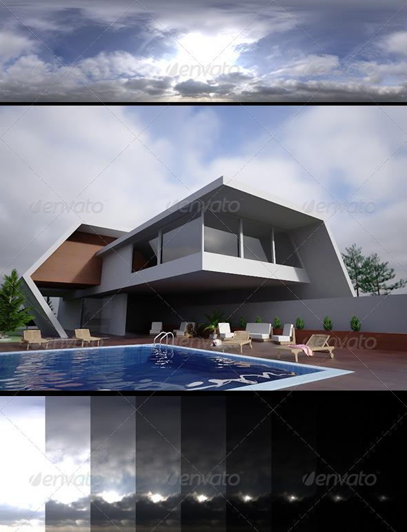 3DOcean Realsky HDRI Blue Cloudy 1430 6396979