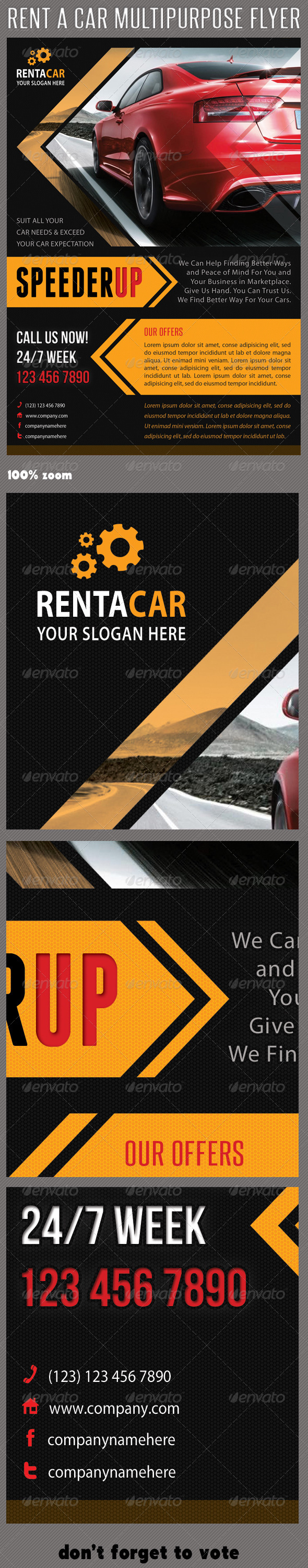 GraphicRiver Rent A Car Corporate Flyer 06 6396988