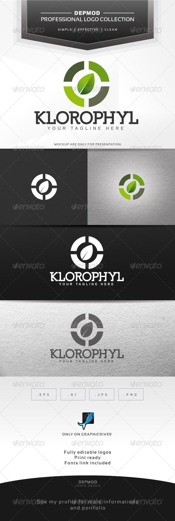 GraphicRiver KIorophyl Logo 6396992