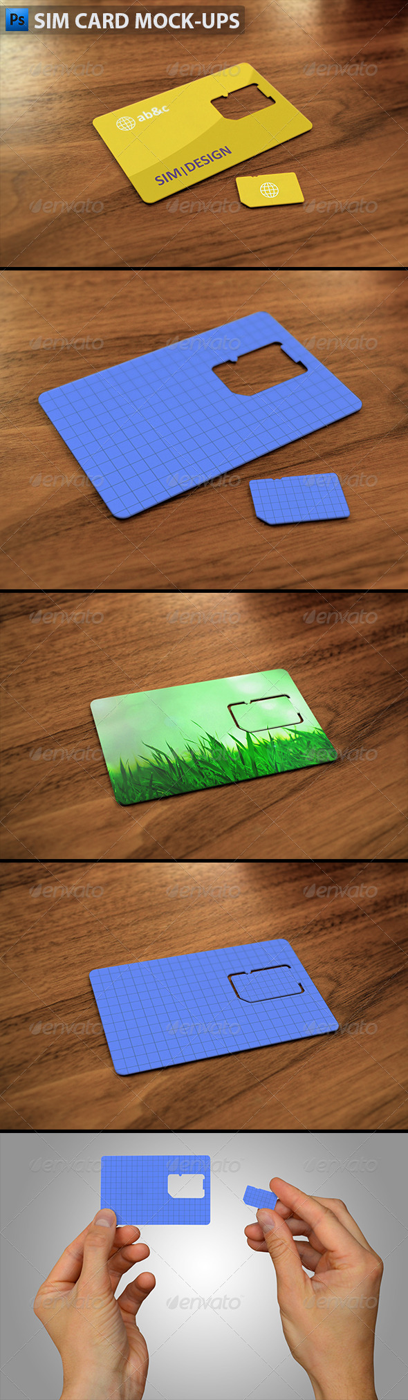 GraphicRiver SIM Card Mock-ups 6397158