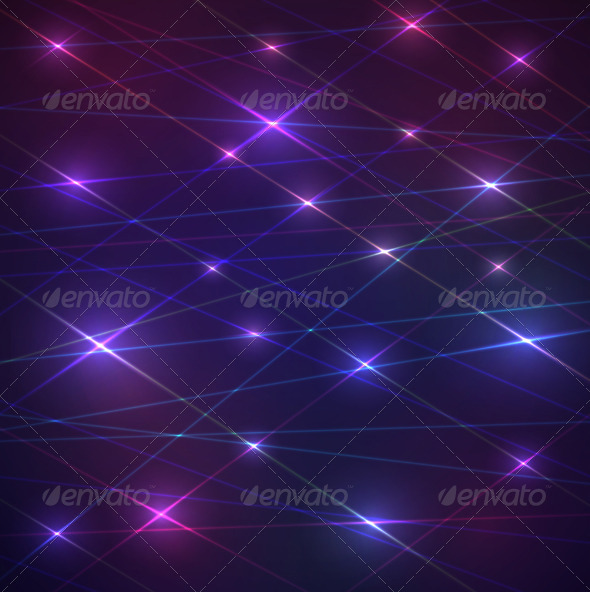 GraphicRiver Laser Glowing Background 6397205