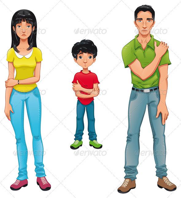 GraphicRiver Sick family 667103