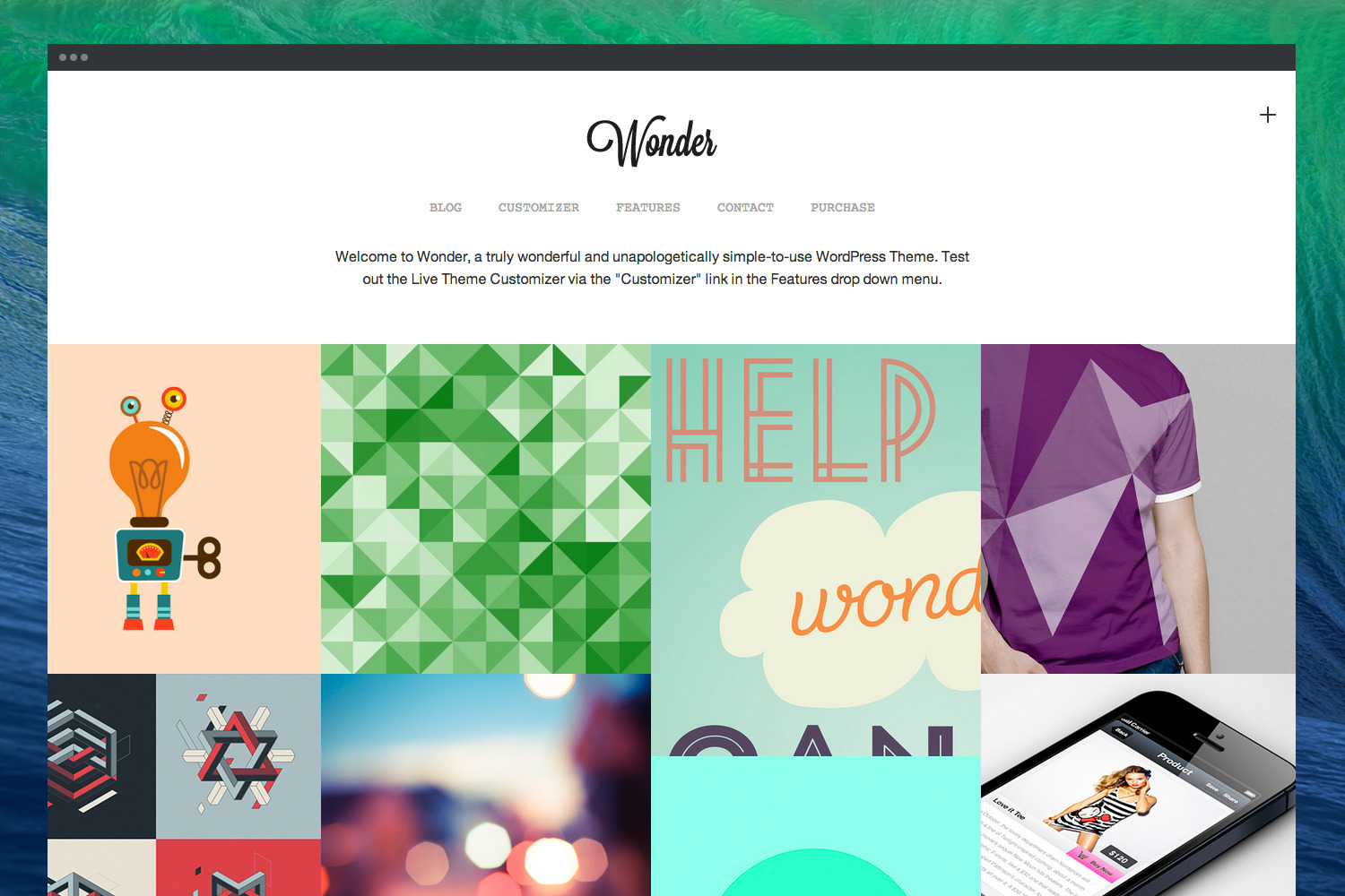 Wonder | Professional WordPress Portfolio Theme