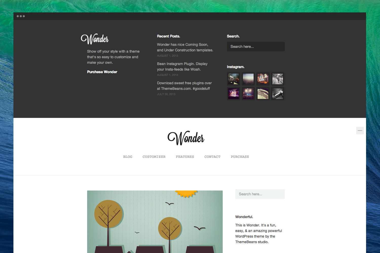 Wonder | Professional WordPress Portfolio Theme