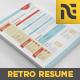 3-Piece Retro Style Resume