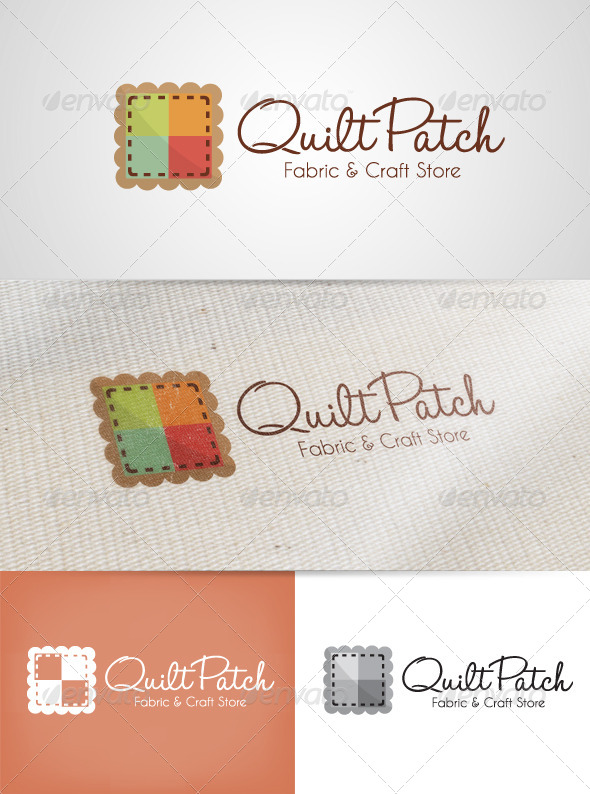 GraphicRiver Quilt Patch Logo 6397651