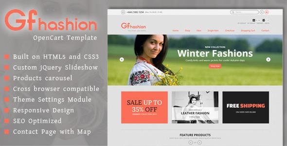 GFashion - Premium Responsive OpenCart Template
