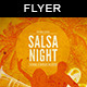 Salsa Night Flyer - GraphicRiver Item for Sale