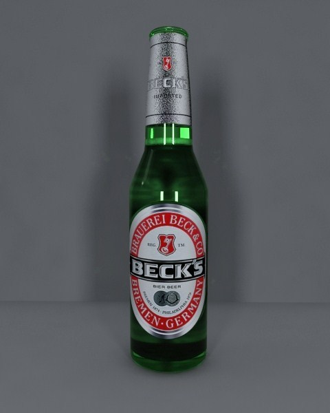 Becks Beer - 3DOcean Item for Sale