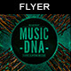 Music DNA | Flyer Template - GraphicRiver Item for Sale