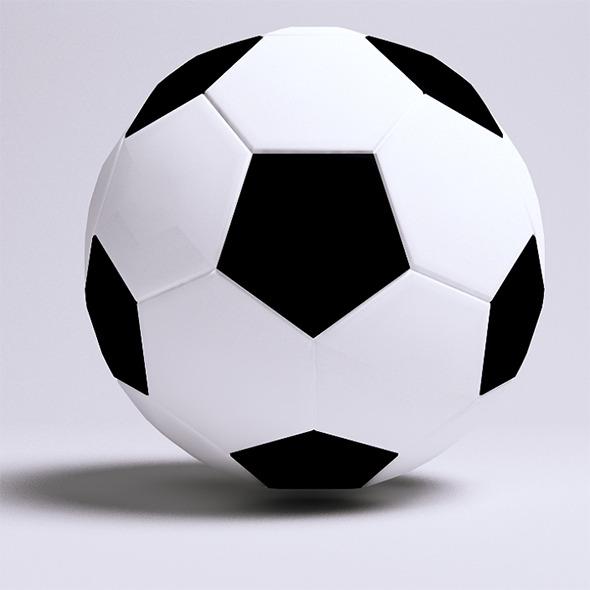 3DOcean Soccer Ball 6399358