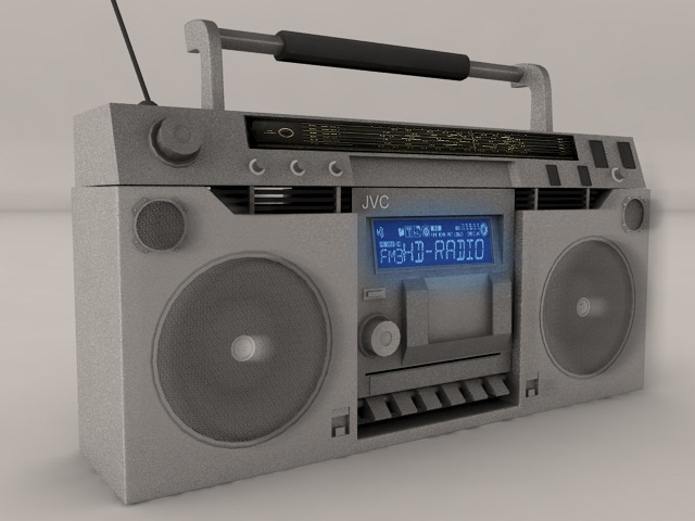3DOcean Boombox 667290
